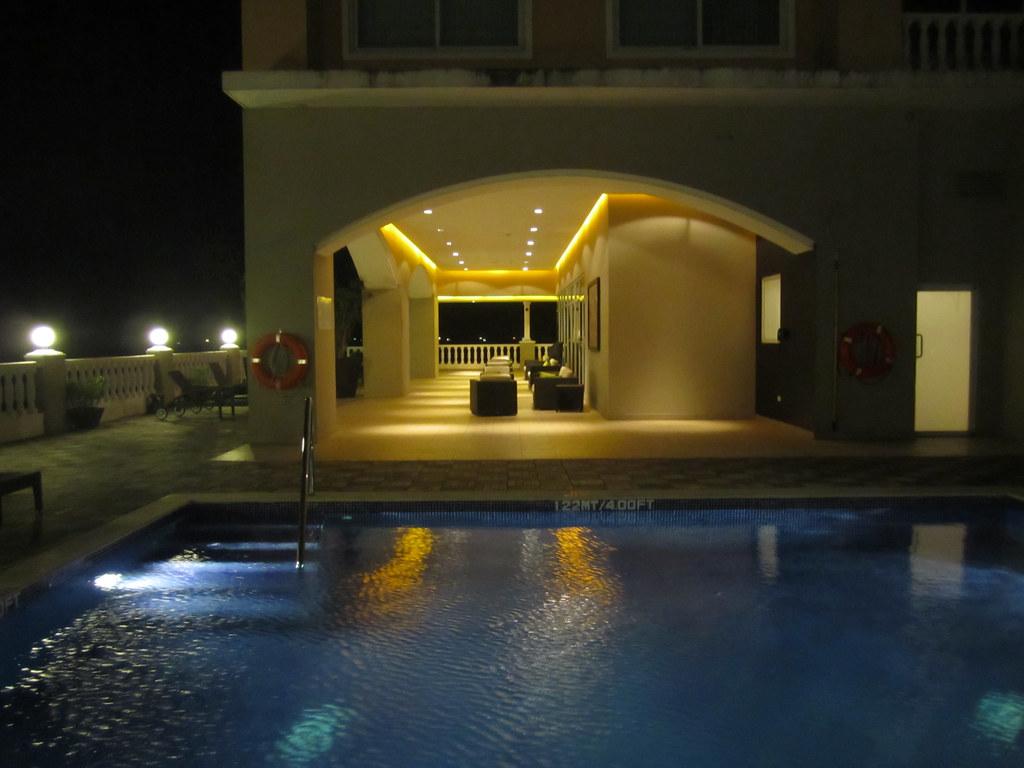 Swimming Pool At The Sensory Spa Le Meridien Panama City