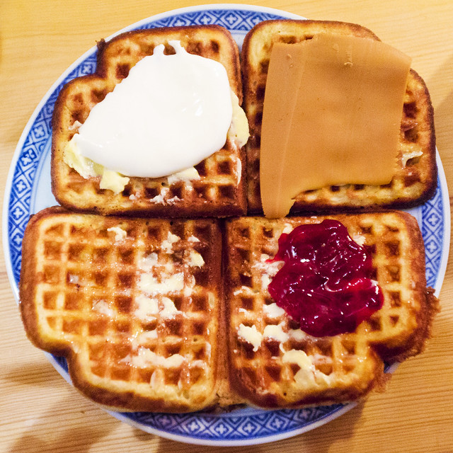 Traditional Norwegian Waffle | Flickr - Photo Sharing!
