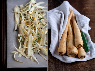 roasted parsnip strips | by Cindy | Hungry Girl por Vida