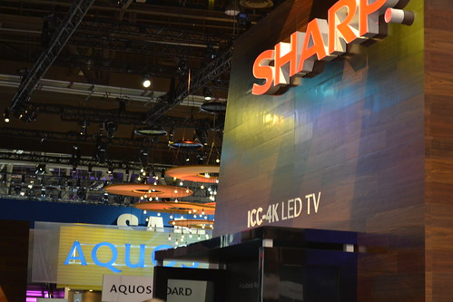 Sharp booth | by International CES
