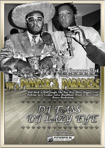 VBI's Pimper's Paradise @ Flying Pig, January 2012 | by DJ Fass