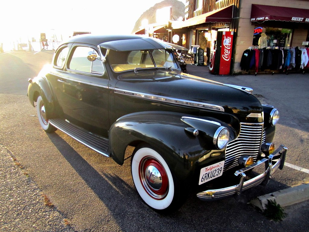 1940 Chevy Business Coupe Master Deluxe, Morro Bay, Califo ...