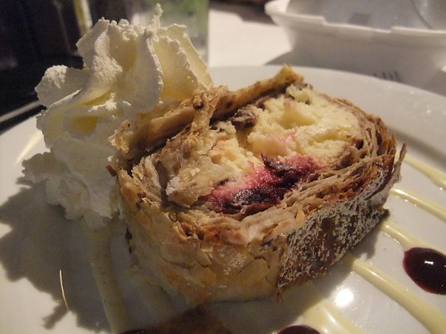 Cherry and Cheese Strudel @ Spagio | by swampkitty