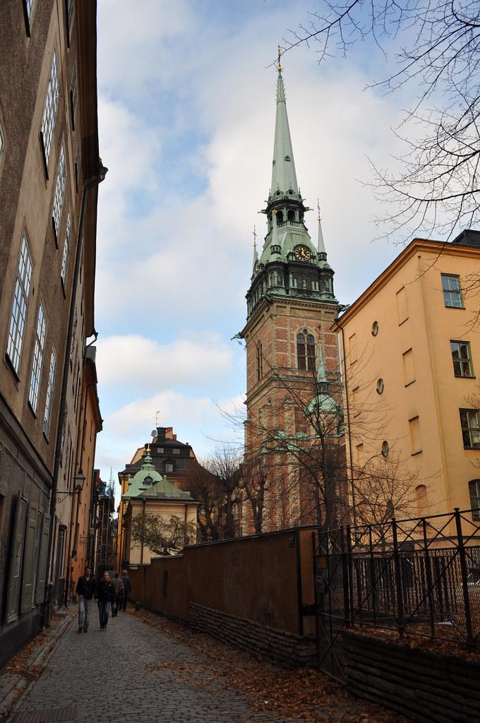 20111110193 - Stockholm - Gamla Stan - Tyska Kyrkan St -5465