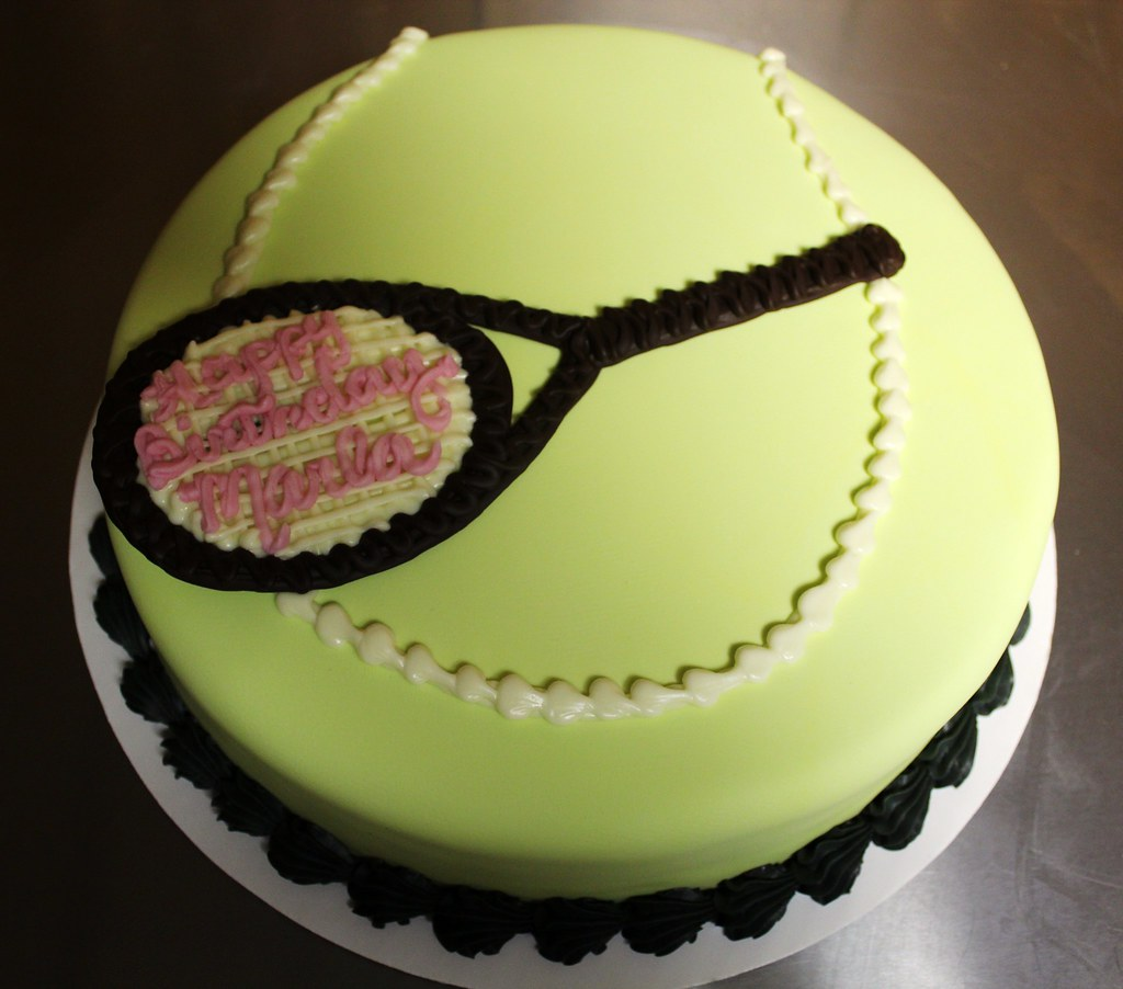 Tennis Ball Birthday Cake By Tony Quot The Pastryarch Quot Albanes