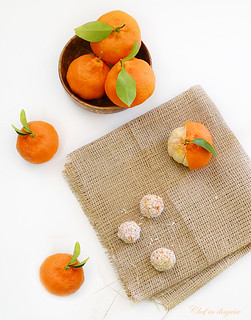clementine dessert balls | by chef in disguise