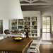 Mark Gregory Peters {white and wood vintage scandinavian rustic modern dining room / shelving}