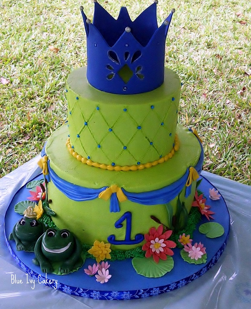 Princess Tiana And The Frog Birthday Cakes Cake
