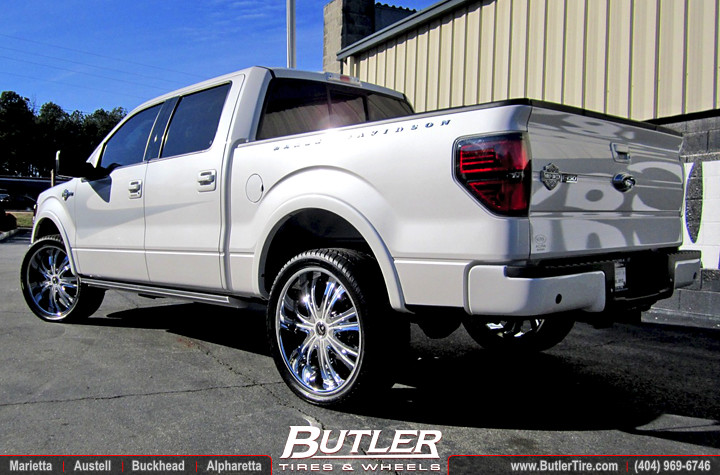 2012 ford f150 harley davidson edition with 24in dub mamba flickr. Black Bedroom Furniture Sets. Home Design Ideas