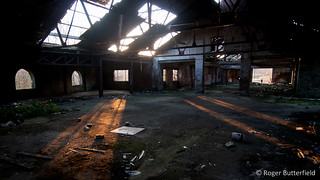 Derelict works - interior | by Roger B.