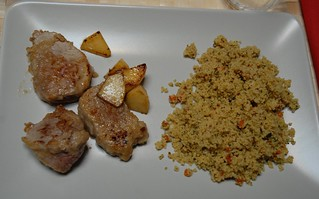 Filetto di maiale e cuscus / Pork tenderloin with cous cous | by Luigi Rosa has moved to Ipernity