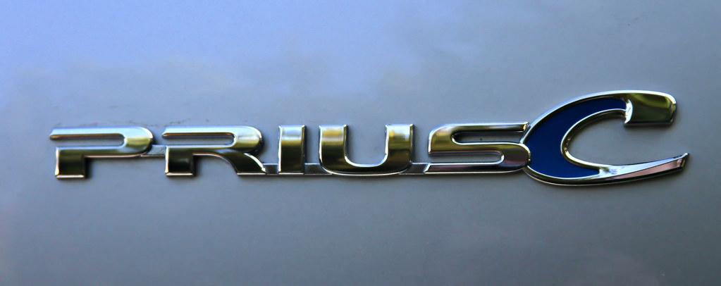 Toyota Prius c Logo | I attended a Toyota Prius c Media ...