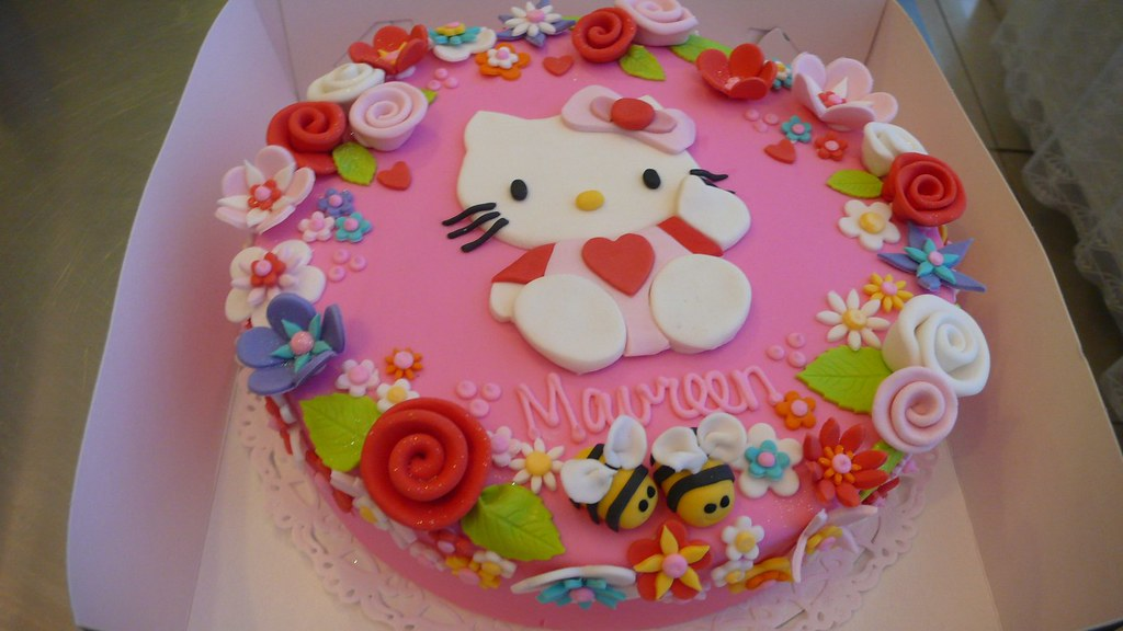 Hello Kitty Cake Hello Kitty Dream Cake Made For A Woman