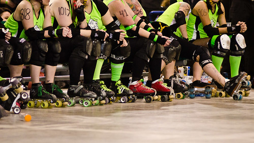 Chicks vs Gores - 2012 Season Opener | by Fifth Business Photography