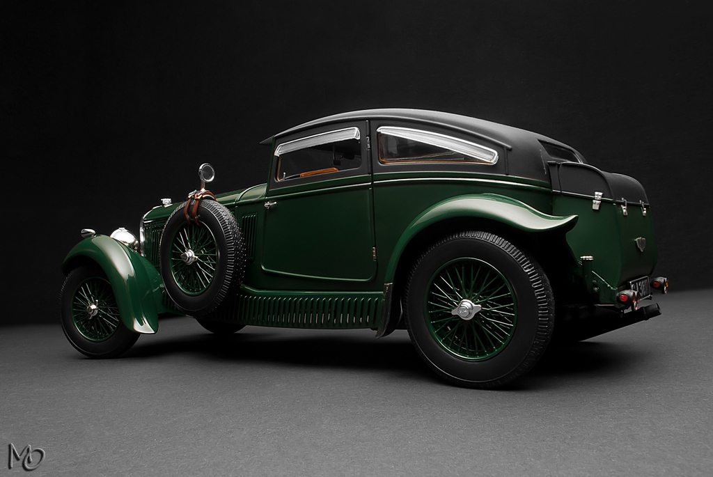 Bentley 6 5 Litre Speed Six Gurney Nutting Saloon Blue T