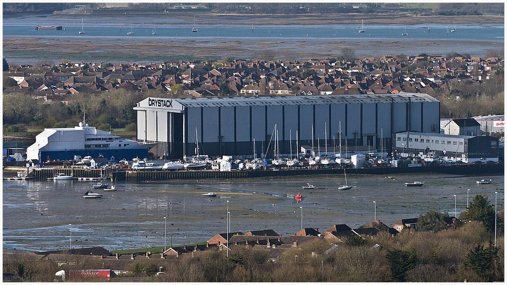 Drystack Boat Storage Trafalgar Wharf Portchester Flickr