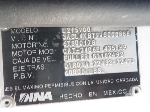 1998 DINA 9400 aka L215700