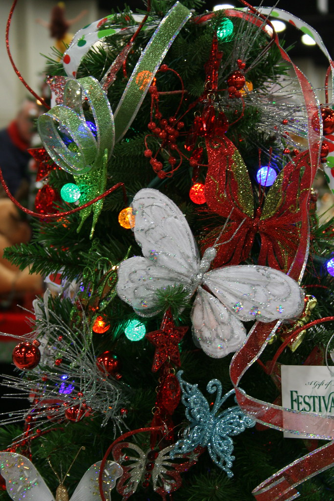 Butterfly Christmas Tree Decorated By Children Carter S