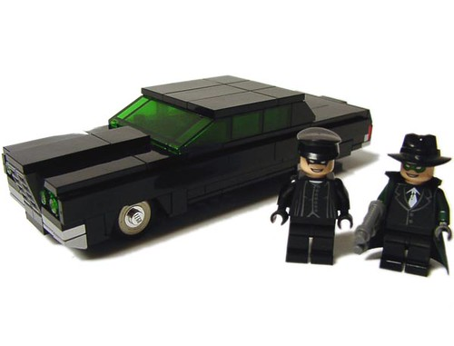 Green Hornet Now With Figures Credit Goes To Someone