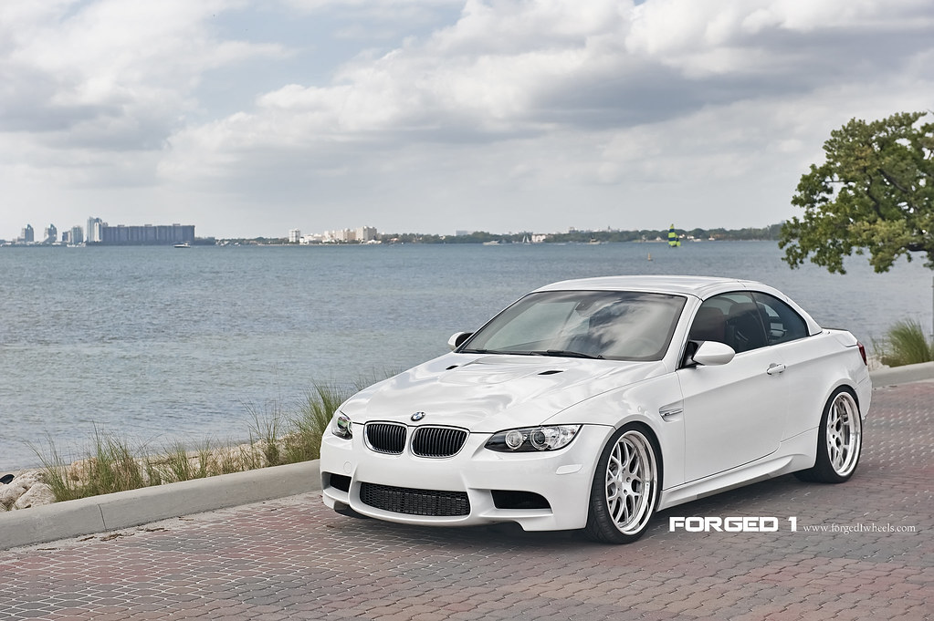 Bmw E93 M3 On Forged 1 Seven Mesh Step Lips Brand