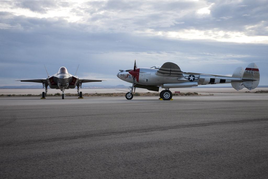 P38 Lightning  US Langstreckenjagdflugzeug und Jagdbomber