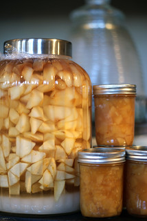 Pear Rum Pot and Pear Ginger Preserves | by QueenieVonSugarpants