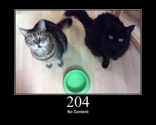 204 - No Content | by GirlieMac