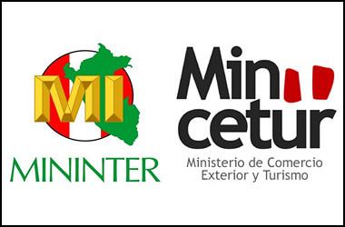 Mininter y mincetur trabajan para nuevo sistema de control for Ministerio del interior web