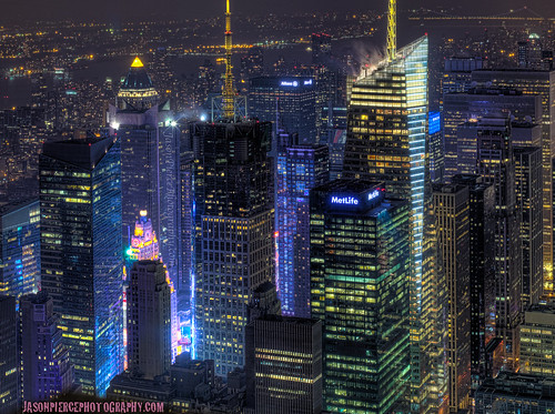THE HEART OF THE CITY: *PANO* bright lights, beautiful buildings.. *revised crop* | by Jason Pierce Photography