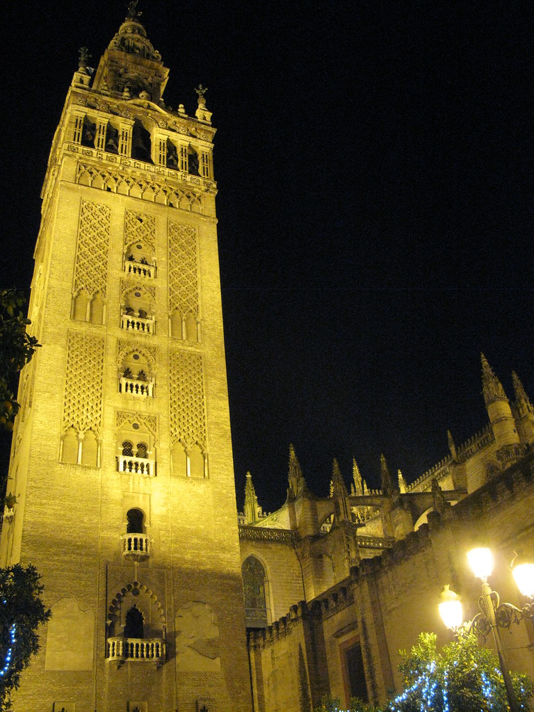 La Giralda at Night  Cathedral bell tower  aa440  Flickr