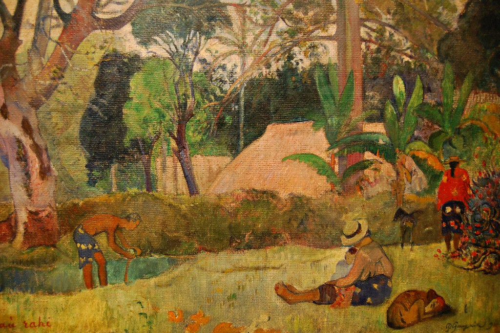 Paul Gauguin 1848 1903 The Big Tree Te Raau Rahi 18