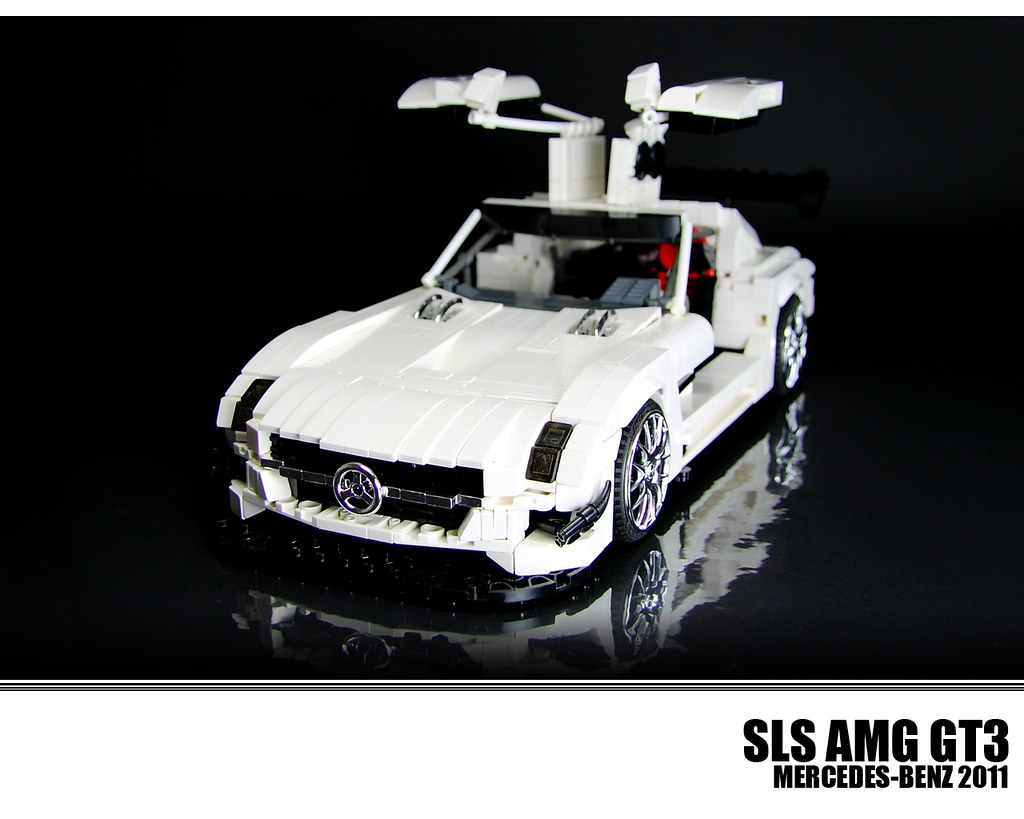 lego mercedes benz sls amg gt3 the mercedes benz sls amg. Black Bedroom Furniture Sets. Home Design Ideas