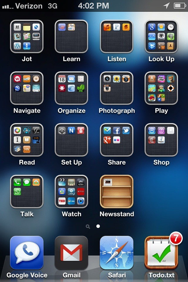 Iphone Organization Screens How To Organize