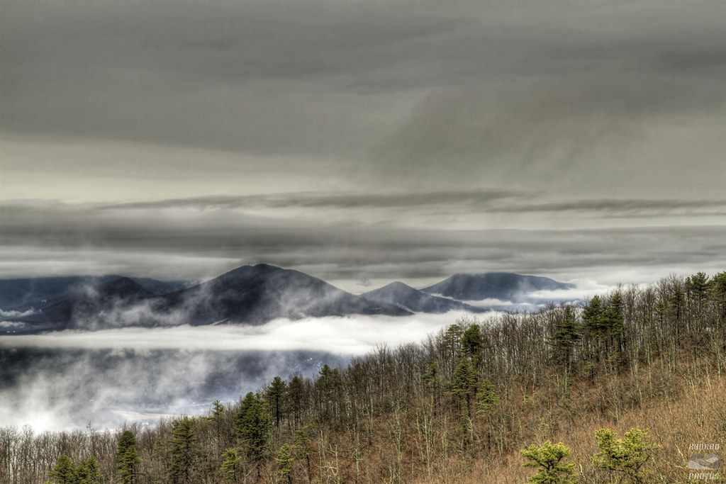 Beacon Heights Winter - Blue Ridge Parkway Daily - Maps ...
