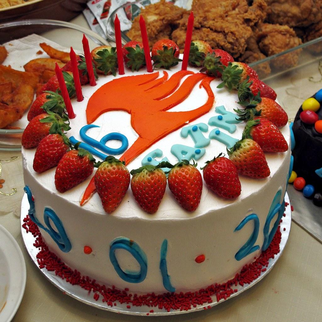 Fairy Tail Cake Ideas