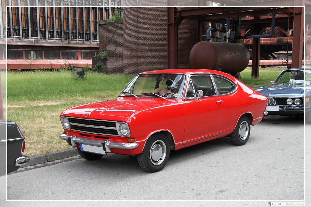 1971 Opel Kadett B Coupe 02 The Kadett B Came In 1966