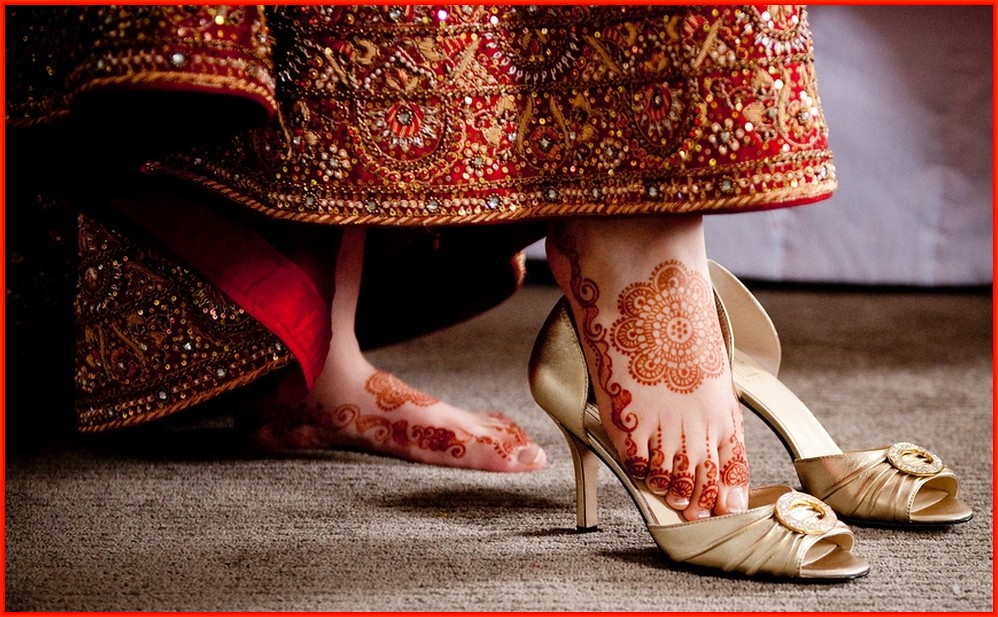 Indian Wedding Shoes White