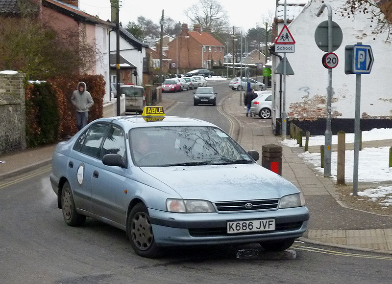 Yes Got It At Last 1993 Toyota Carina E Taxi Diss Flickr