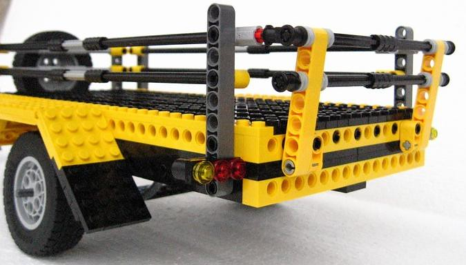 lego technic trailer ryan smith flickr. Black Bedroom Furniture Sets. Home Design Ideas