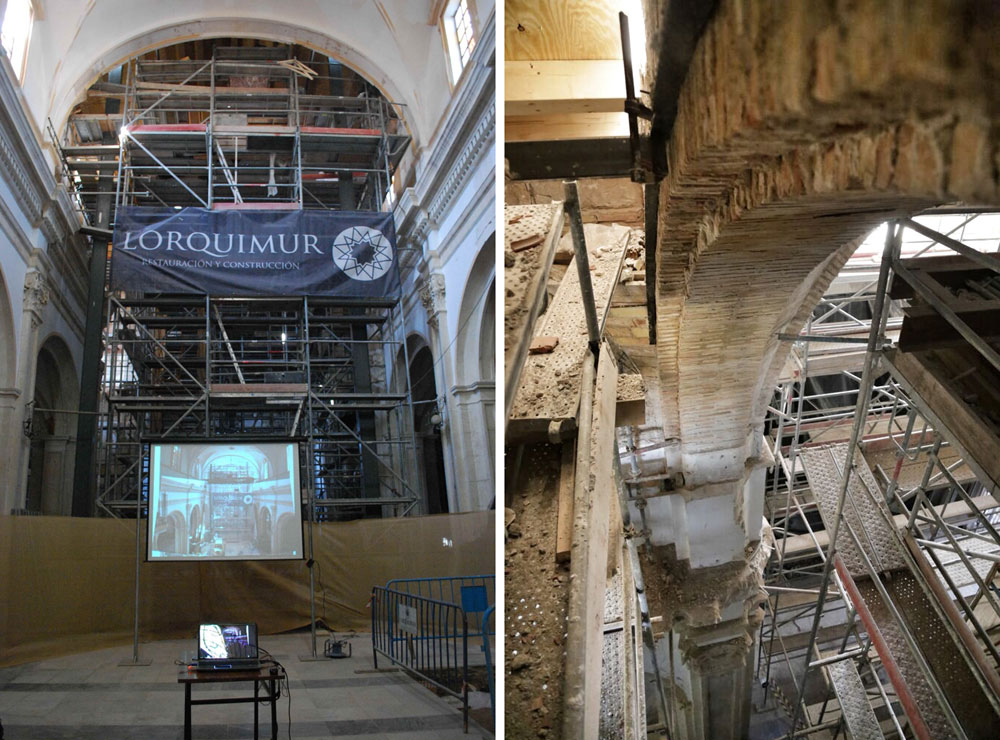 iglesia de santiago lorca_ cúpula_patrimonio_rehabilitación_premio europa nostra_lorquimur_fotos vía carmen martinez y albert Brufau