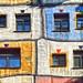 Hundertwasserhaus façade