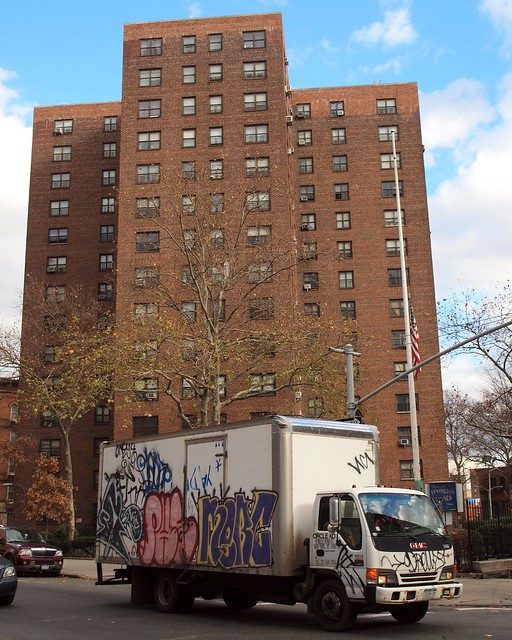 Lexington Public Housing, East Harlem, New York City
