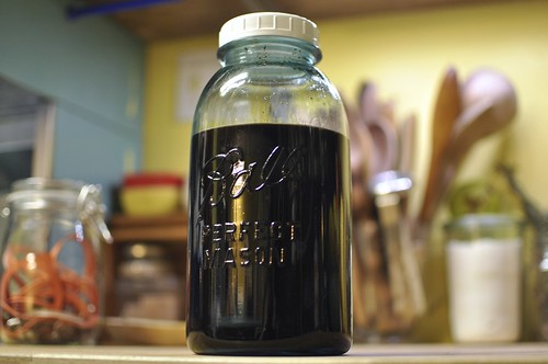 homemade kahlua in the making | by Marisa | Food in Jars