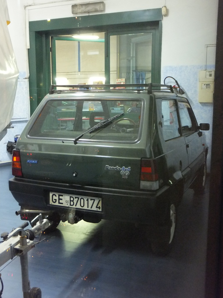 Fiat panda 4x4 sisley showroom condition no trip to for Fiat panda 4x4 sisley usata