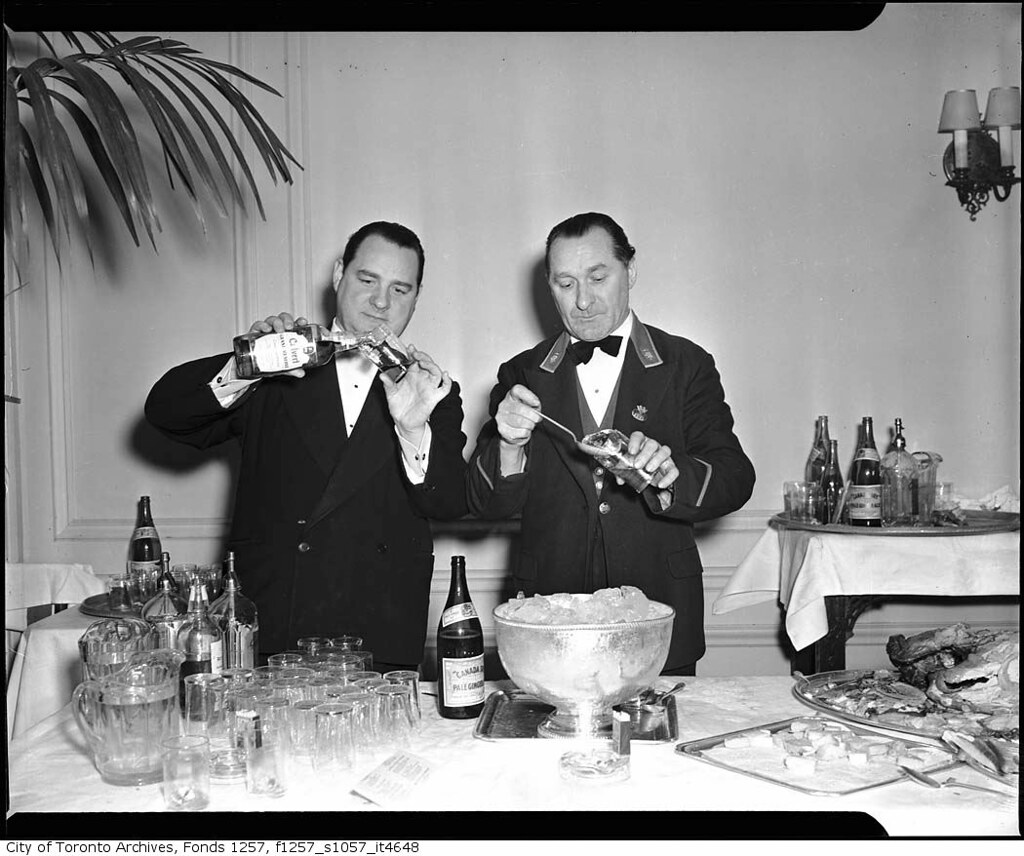 Bartenders at Royal York Hotel | by Toronto History