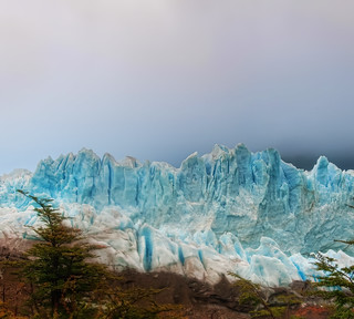 Glacier in the Fog | by Stuck in Customs
