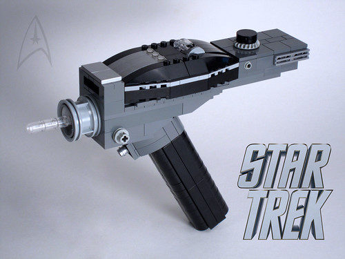 LEGO Type II hand phaser | by GeekyTom