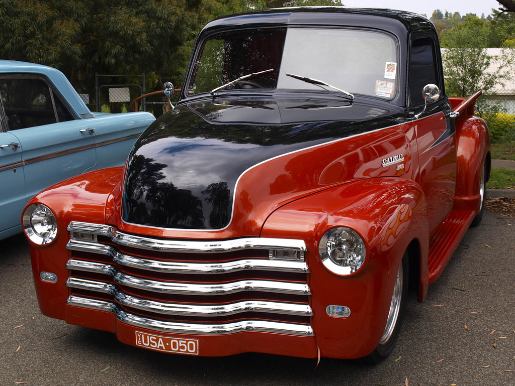 1950 chevy pickup truck there are a couple of these chev t flickr. Black Bedroom Furniture Sets. Home Design Ideas