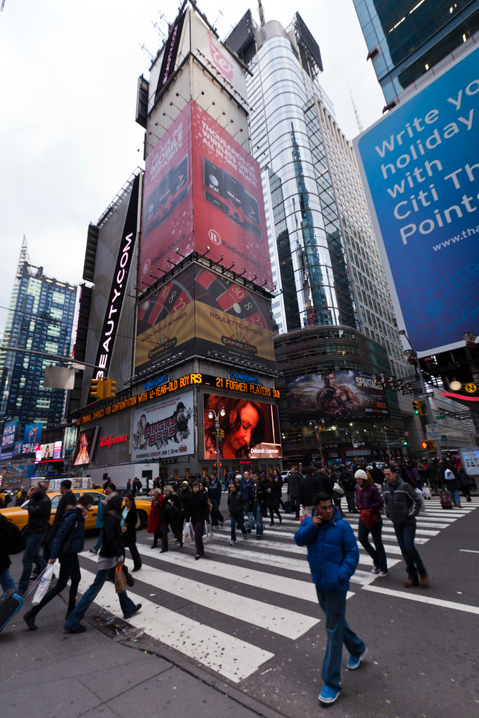 Near times square 7th avenue alh1 flickr for What to do around times square