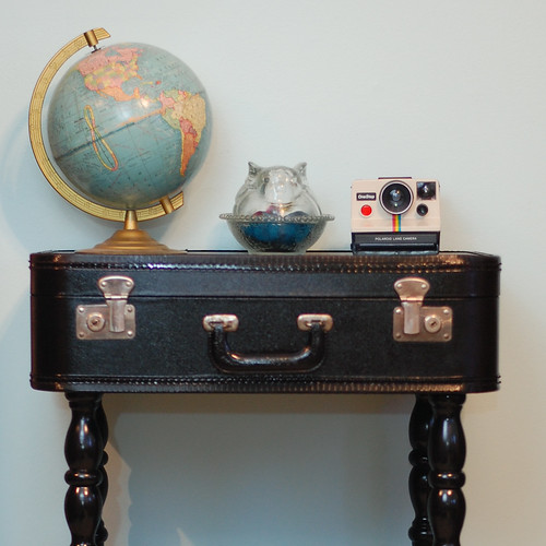 DIY Suitcase Table | by Stacie Stacie Stacie